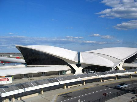The TWA Terminal, or Flight Center, at Kennedy Airport in New York.