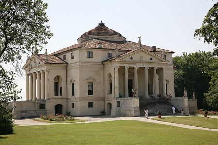 "Palladio's ""La Rotunda"" was named after the"