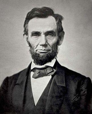 A daguerrotype of Abraham Lincoln in 1863, taken by Alexander Gardner.