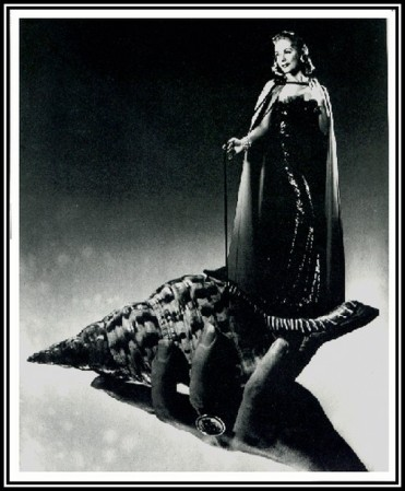 A portrait of June Clyde by photographer Angus McBean.
