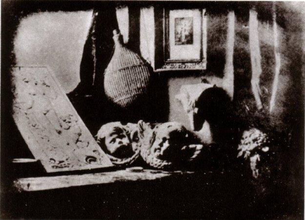 Artists studio Daguerre 1837