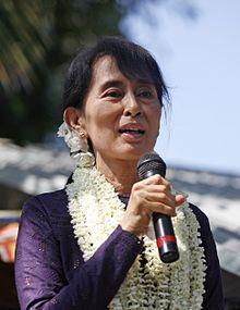 Aung San Suu Kyi in 2011.