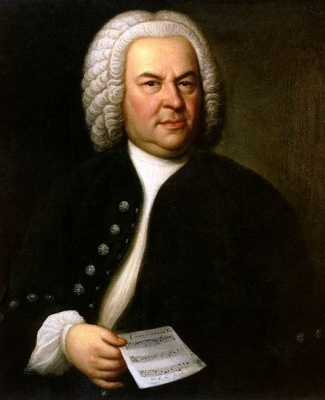 A portrait of Johann Sebastian Bach. This is a 1748 copy of Elias Haussmann's 1746 original, which hangs in the Old Town Hall in Leipzig, Germany.