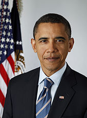 Official Presidential Portrait of Barack Obama in 2009.