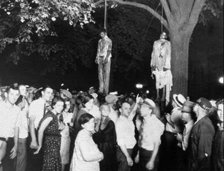 The Lynching of Young Blacks.