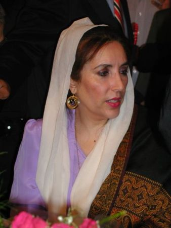 Benazir Bhutto in 2004.