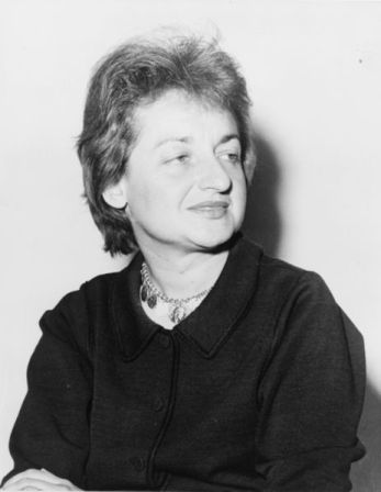 Betty Friedan in 1960.