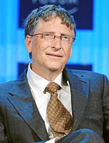 Bill Gates in 2012.
