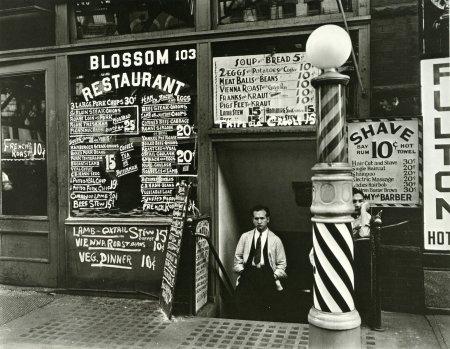 Blossom Restaurant is a pjhotograph by Berenice Abbott.