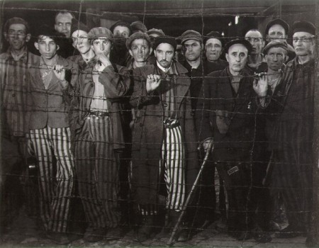 Prisoners at Buchenwald.