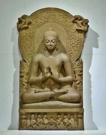 Buddha Preaching the Law.