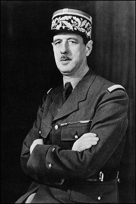 Charles de Gaulle in 1942.
