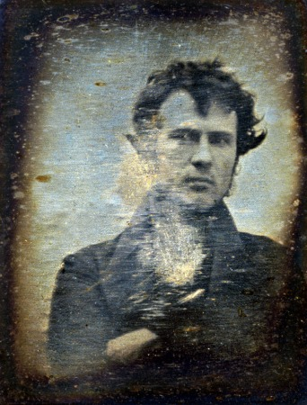 Self-portrait of Robert Cornelius.