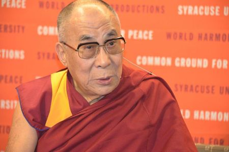 The Dalai Lama in 2012.