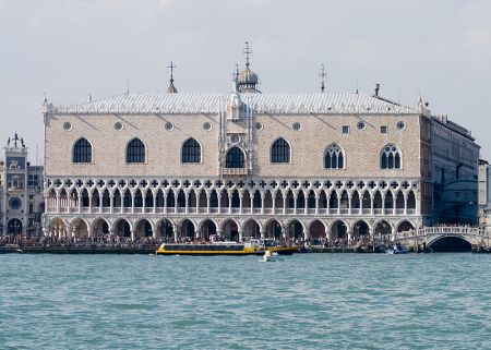 The Doge's Palace in Venice.