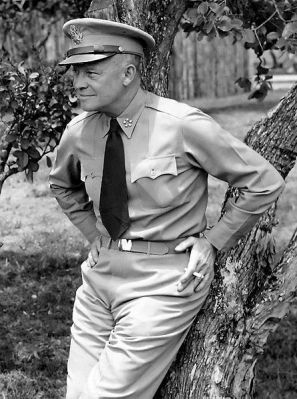 Dwight D. Eisenhower when he was General of the US Army.