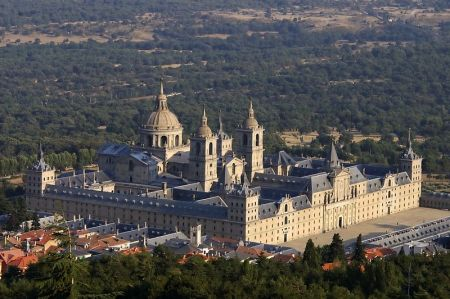 El Escorial was the residential palace of the King of Spain.
