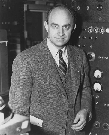 Enrico Fermi in the 1940s.