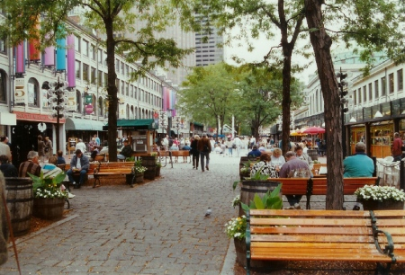 The development of Faneuil Hall and Quincy Market into a tourist-friendly area with shops and restaurants spawned imitators around the U.S.