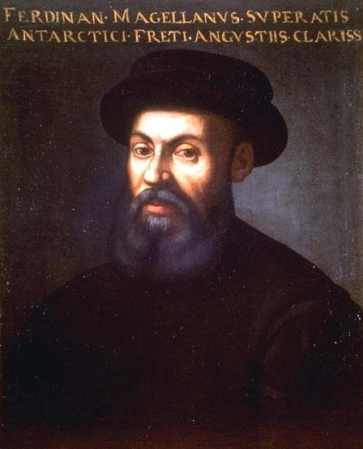 A portrait of Ferdinand Magellan from the 16th or 17th Century. It may be found in the Mariner's Museum Collection, Newport News, Virginia.