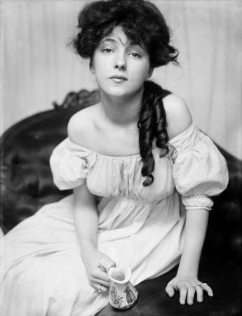 Portrait of Ms. N (Evelyn Nesbit).