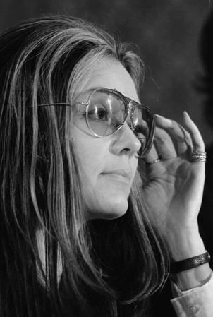 Gloria Steinem in 1972.