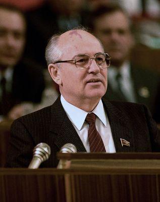 Mikhail Gorbachev in 1987.