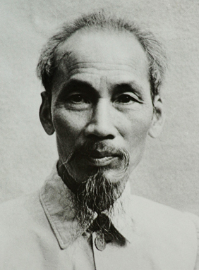 Ho Chi Minh in 1946.