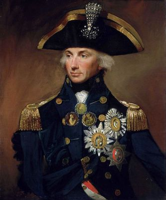 A 1799 portrait of Horatio Nelson by Lemuel Francis Abbott 1799. It is now in the National Maritime Museum in London.