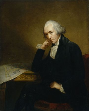 A portrait of James Watt by Carl Frederik von Breda in 1792. It can be seen in the National Portrait Gallery, London.