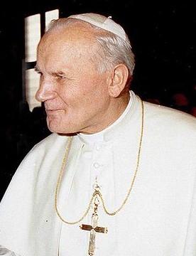 Pope John Paul II in 1980.