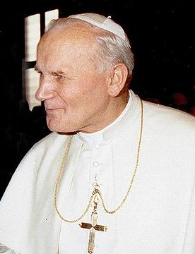 Pope John Paul II in 1980.