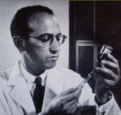 Jonas Salk. Photo by Yousef Kauch.