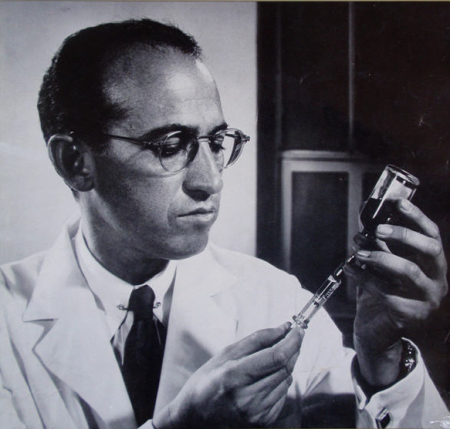 Jonas Salk. Photo by Yousef Kauch.