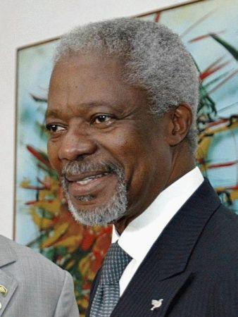 Kofi Annan in 2003.