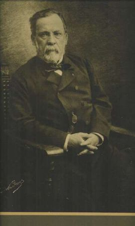 An undated photograph of Louis Pasteur, taken by Nadar.