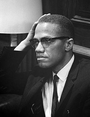 Malcolm X in 1964.