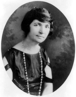 Margaret Sanger in 1922.