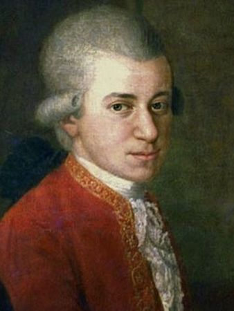 A portrait of Mozart taken from a family group portrait by Johann Nepomuk Della Croce in 1780 or 1781. The painting hangs in the Stiftung Mozarteum in Salzburg, Austria.