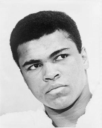 Muhammad Ali in 1967.