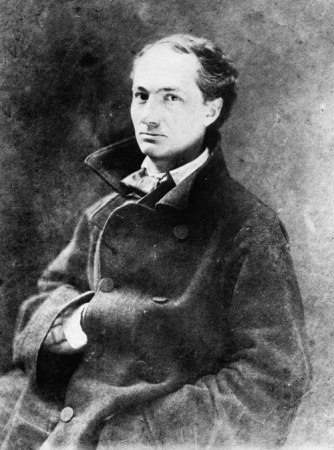 An 1855 photograph of Charles Baudelaire by Nadar.