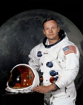 Neil Armstrong in 1969.