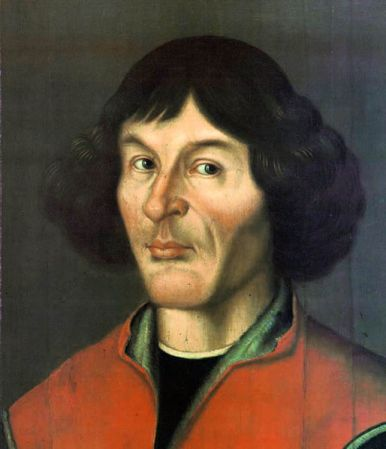 A 1580 portrait of Nikolaus Copernicus. It is located in the Town Hall of Toruń, Poland.
