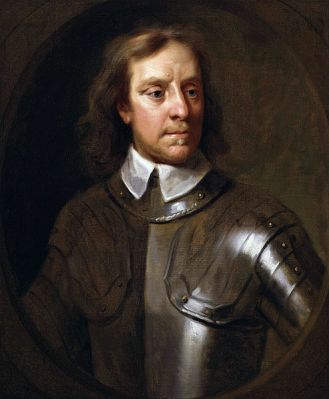 A 1656 portrait of Oliver Cromwell by Samuel Cooper. It is located in the National Portrait Gallery, London.