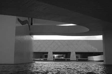 The Oscar Niemeyer Museum.