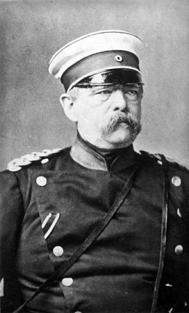 A photograph of Otto von Bismarck from about 1875. It is located in the German Federal Archives, Koblenz.