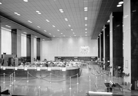 The Banking Hall of the PSFS Building.
