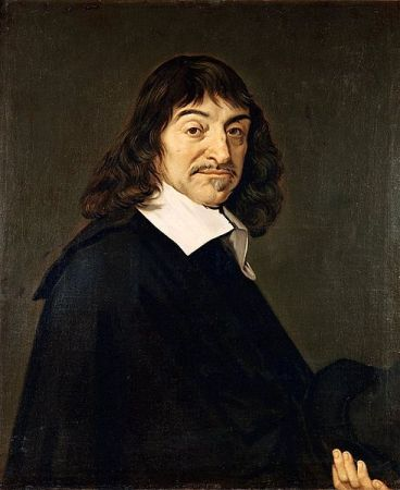 A late 17th Century copy of Franz Hals' 1649 portrait of René Descartes. It is located in the Louvre, Paris.