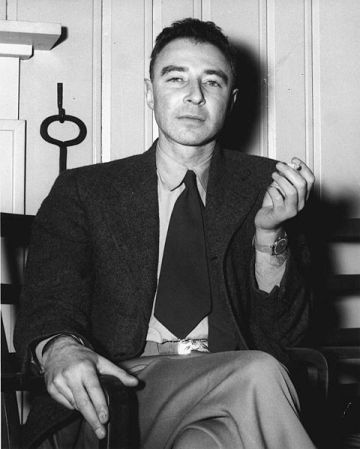 Robert Oppenheimer in 1946.