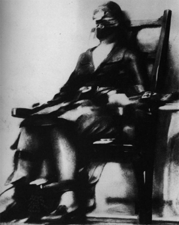 The Execution of Ruth Snyder is a photograph by journalist Jim O'Sullilvan.